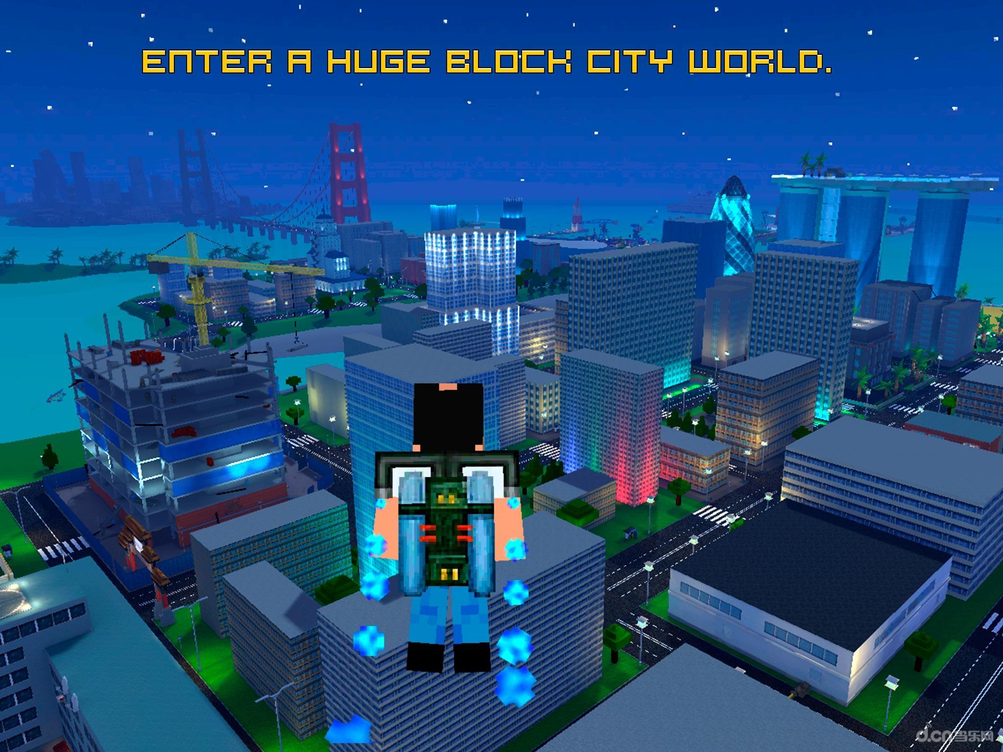 利用重力感应控制方向,整个游戏就是一个迷你的像素gta.