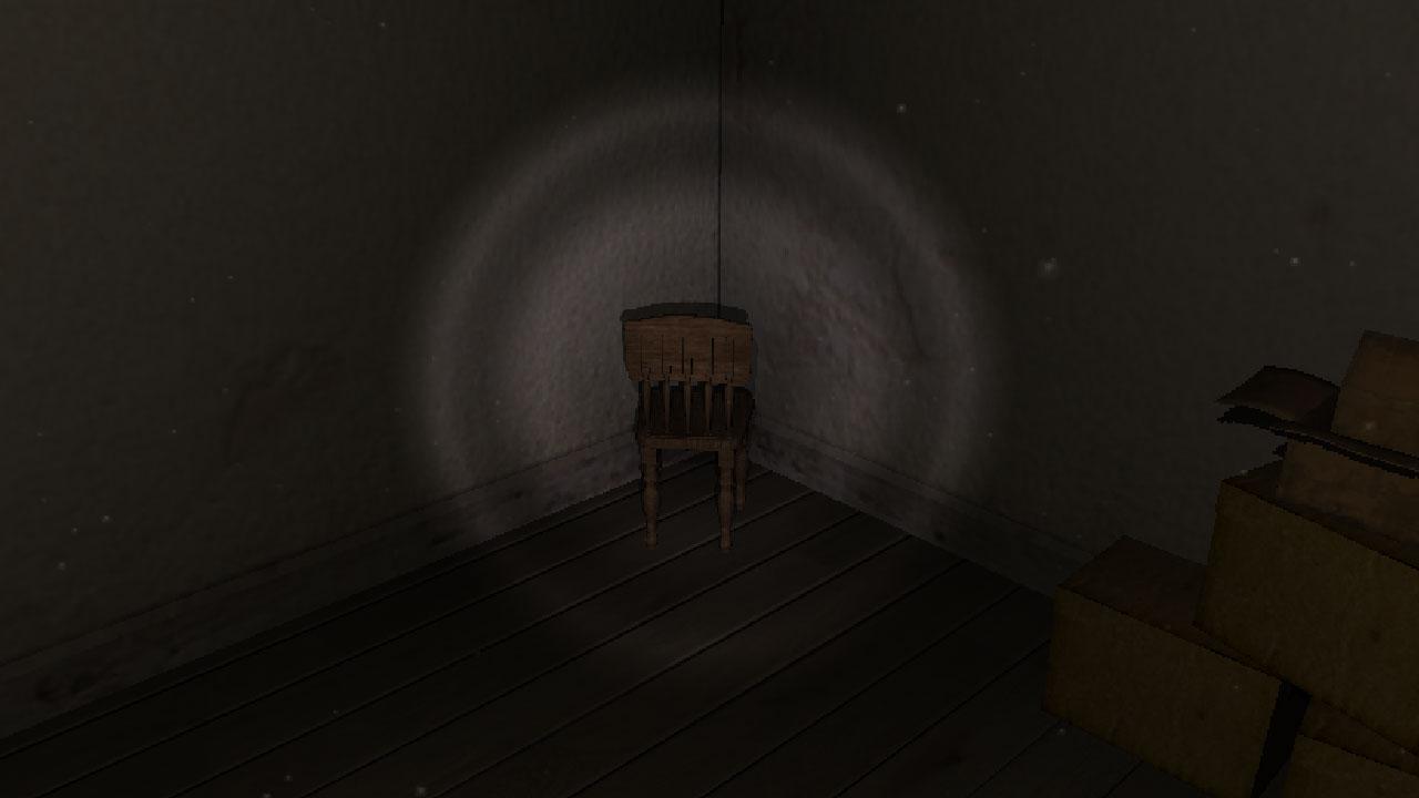 房间中的椅子VR图1