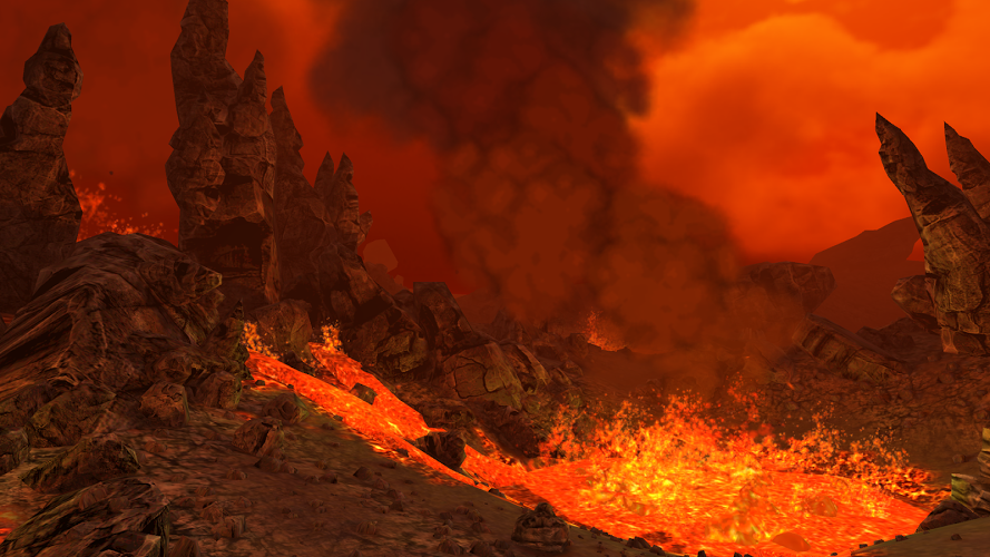 火山漫游VR图2