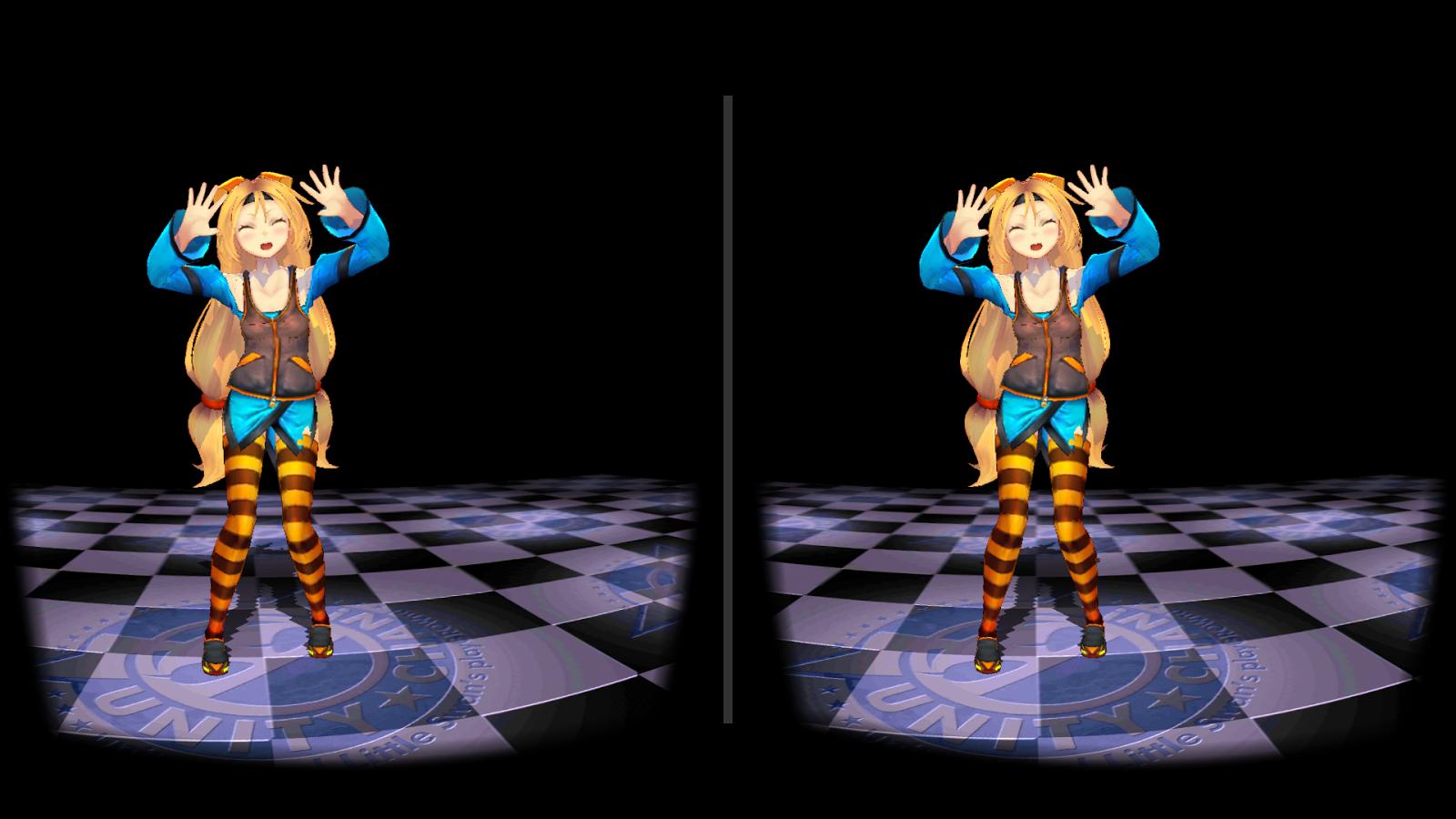 和Unity酱约会VR图1