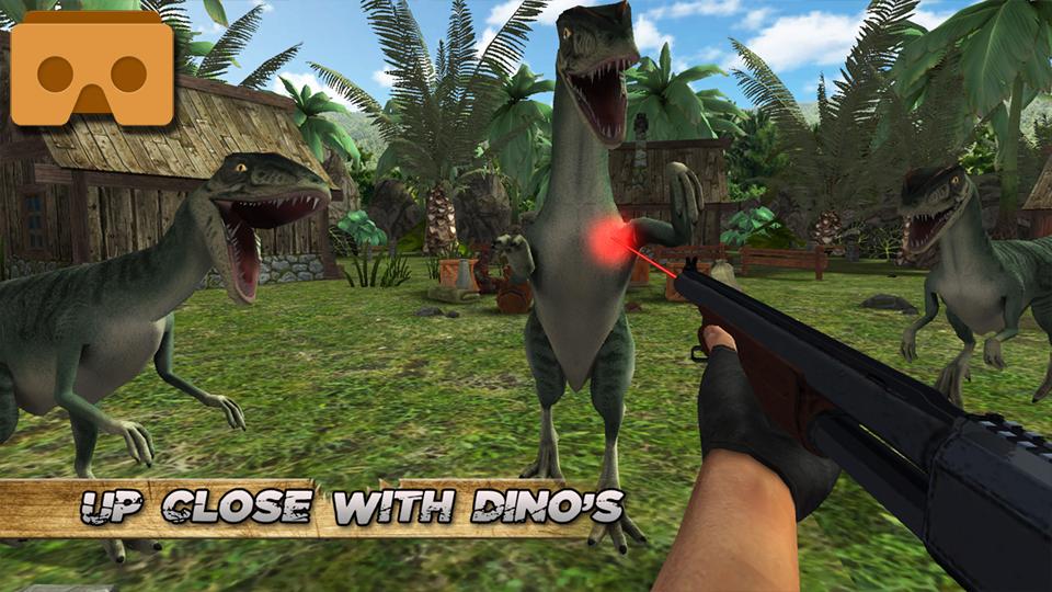 侏罗纪原始猎人VR图1