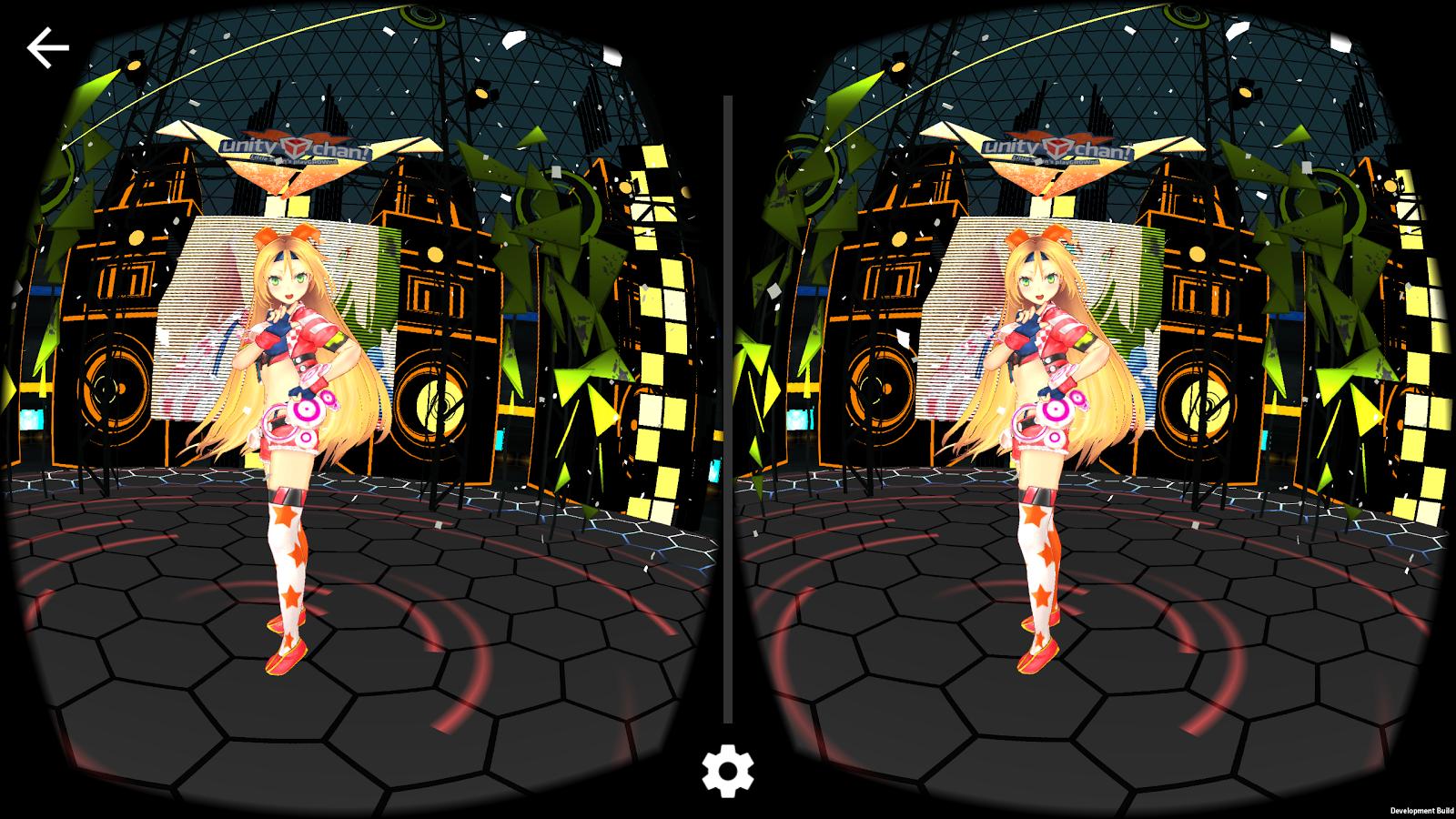 Unity娘演唱会VR图4