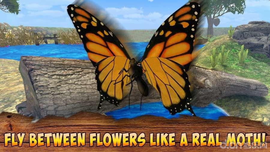 满足所有动物模拟器爱好者的绝对新的蝴蝶昆虫3d模拟器!